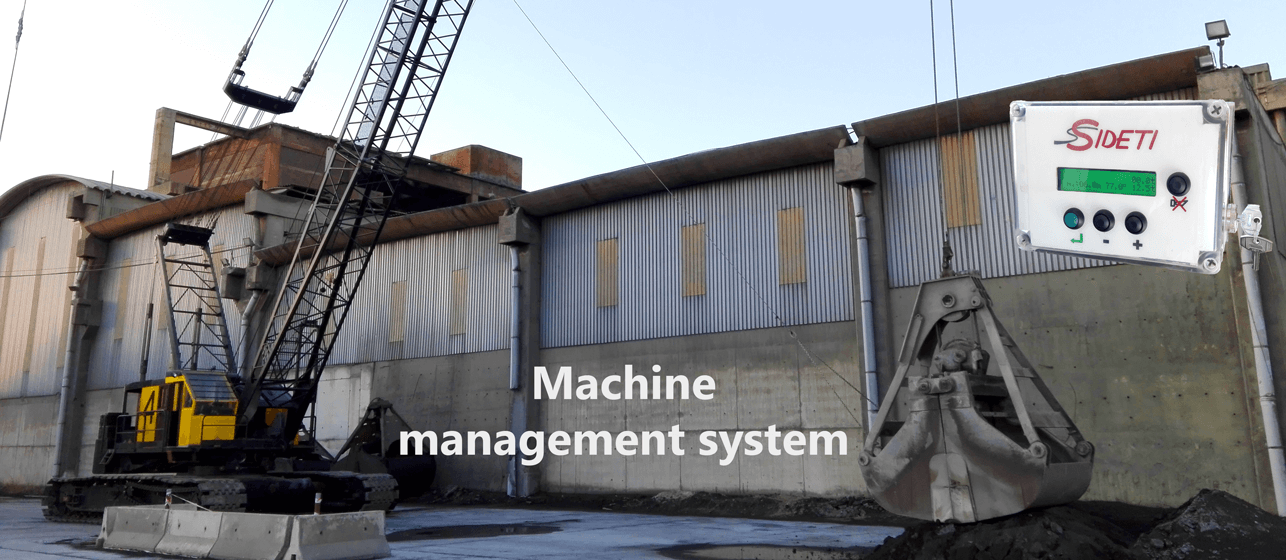 Crane and management system